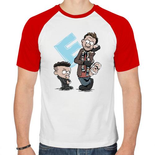 Мужская футболка реглан  Фото 01, Е Кельвин