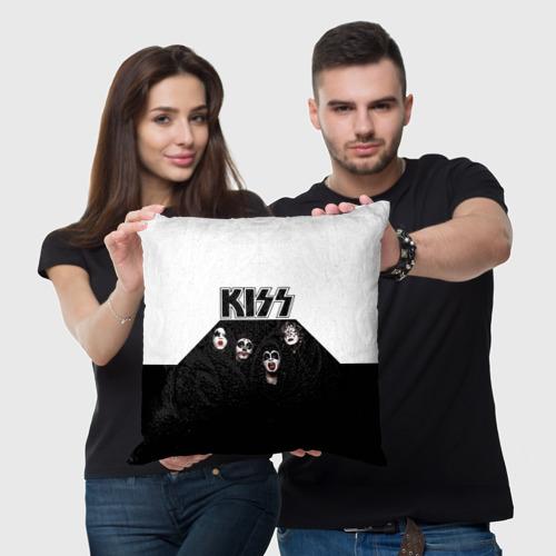 Подушка 3D  Фото 05, Kiss