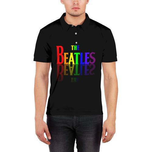 Мужская рубашка поло 3D  Фото 03, The beatles