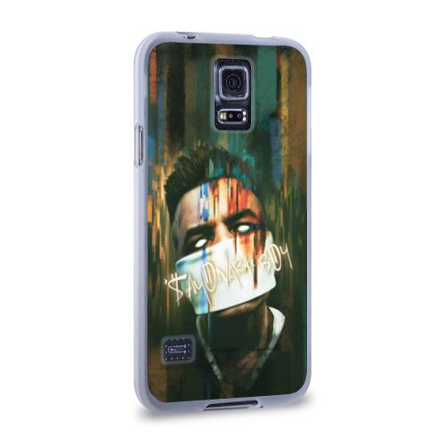 Чехол для Samsung Galaxy S5 силиконовый  Фото 02, Sayonara boy 2
