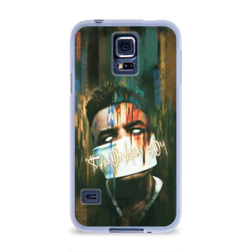 Чехол для Samsung Galaxy S5 силиконовый  Фото 01, Sayonara boy 2