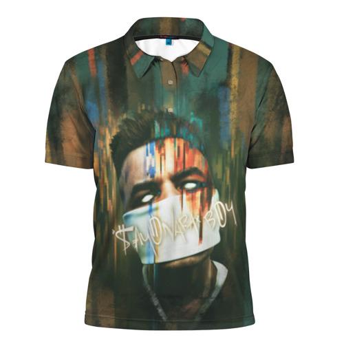 Мужская рубашка поло 3D  Фото 01, Sayonara boy 2
