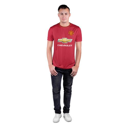 Мужская футболка 3D спортивная Поль Погба Новая Форма 2018 Фото 01