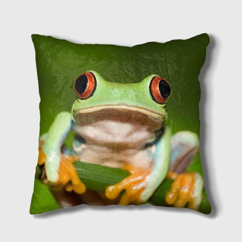 Подушка 3D  Фото 01, Лягушка