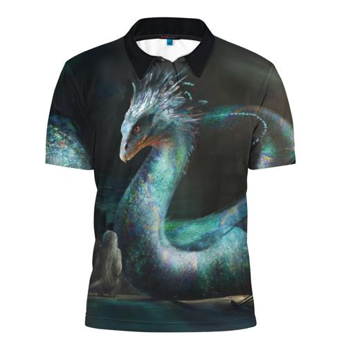 Мужская рубашка поло 3D Окками