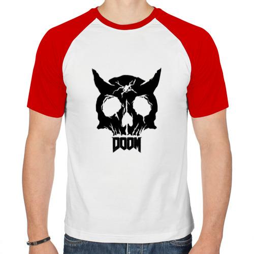 Мужская футболка реглан  Фото 01, Doom