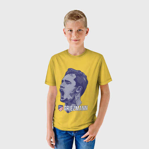 Детская футболка 3D  Фото 01, Griezmann Atletico Madrid