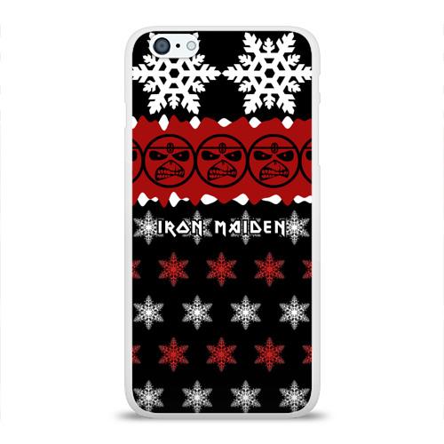 Чехол для Apple iPhone 6Plus/6SPlus силиконовый глянцевый  Фото 01, Праздничный Iron Maiden