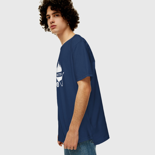 Мужская футболка хлопок Oversize BBQ Фото 01