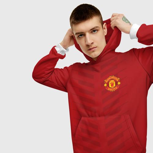 Мужская толстовка 3D  Фото 01, Manchester United Creative #1