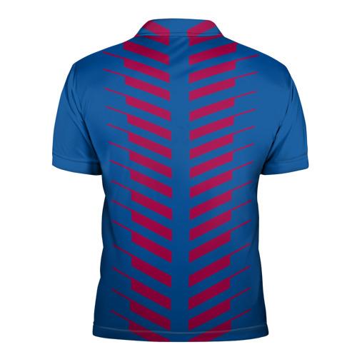 Мужская рубашка поло 3D  Фото 02, FC Barcelona 2018 Creative