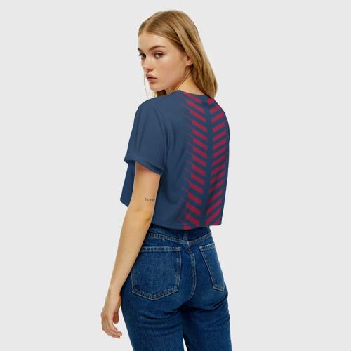 Женская футболка Crop-top 3D PSG 2018 Creative Фото 01