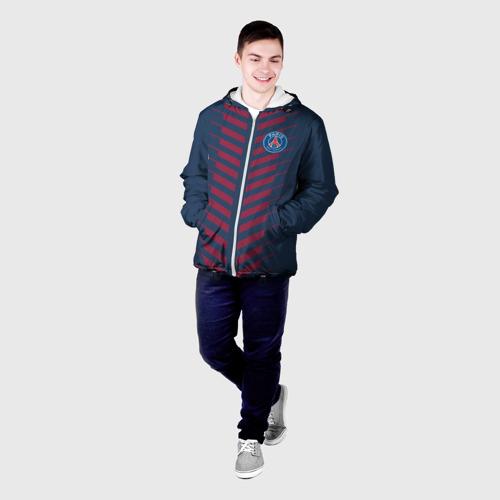 Мужская куртка 3D PSG 2018 Creative Фото 01