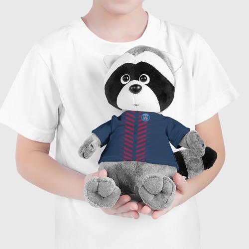 Енотик в футболке 3D PSG 2018 Creative Фото 01