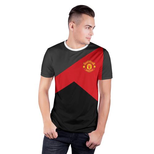 Мужская футболка 3D спортивная Manchester United 2018 #19 Фото 01