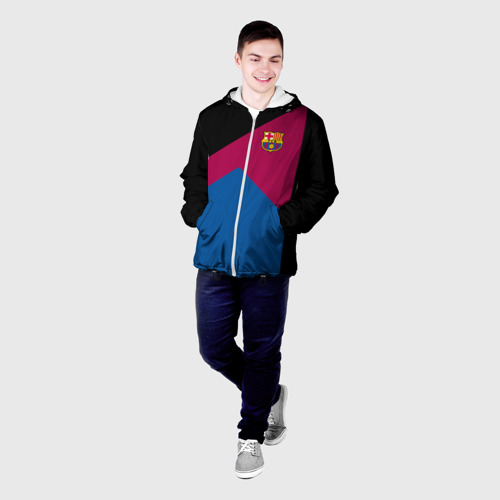 Мужская куртка 3D  Фото 03, FC Barcelona #9
