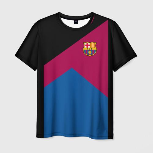 Мужская футболка 3D  Фото 03, FC Barcelona #9