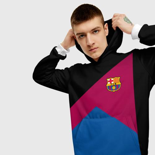 Мужская толстовка 3D  Фото 01, FC Barcelona #9