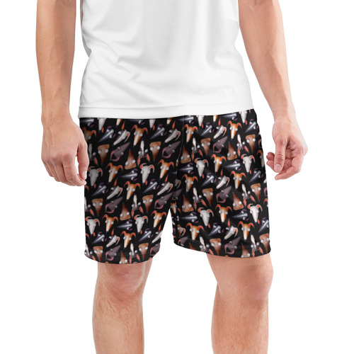 Мужские шорты 3D спортивные  Фото 03, Dogs