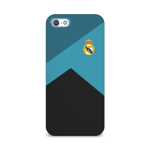 Чехол для Apple iPhone 5/5S 3D  Фото 01, Real Madrid 2018 #11
