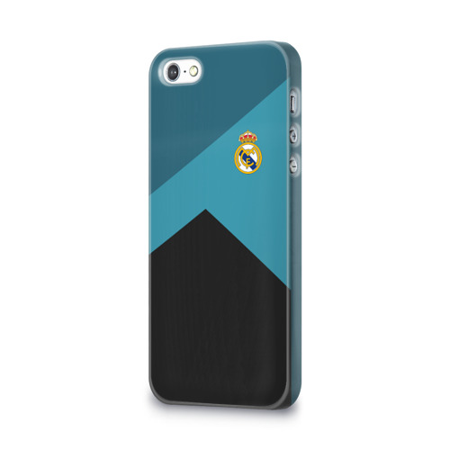 Чехол для Apple iPhone 5/5S 3D  Фото 03, Real Madrid 2018 #11