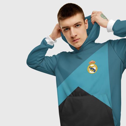 Мужская толстовка 3D Real Madrid 2018 11