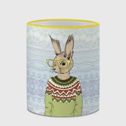 Кролик хипстер