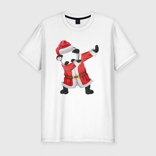 Панда Санта-Клаус