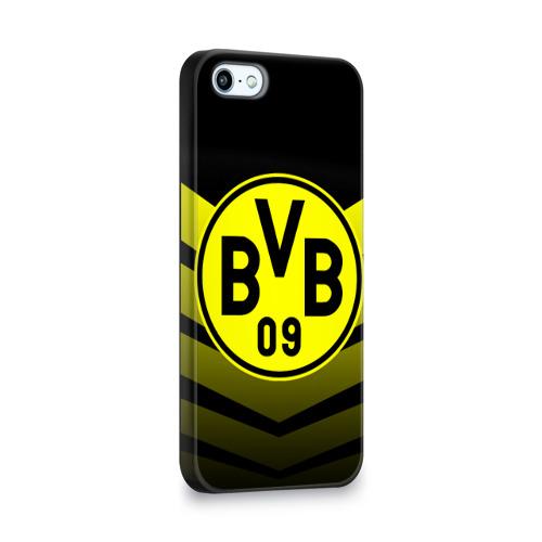 Чехол для Apple iPhone 5/5S 3D  Фото 02, FC Borussia 2018 Original #15