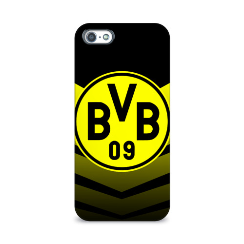 Чехол для Apple iPhone 5/5S 3D  Фото 01, FC Borussia 2018 Original #15