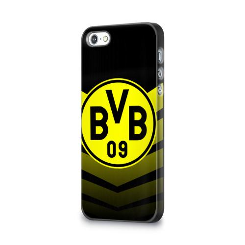 Чехол для Apple iPhone 5/5S 3D  Фото 03, FC Borussia 2018 Original #15