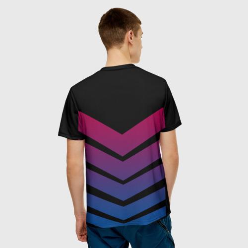 Мужская футболка 3D  Фото 02, FC Barcelona 2018 Arrow
