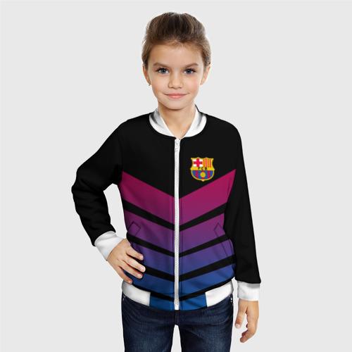 Детский бомбер 3D  Фото 06, FC Barcelona 2018 Arrow