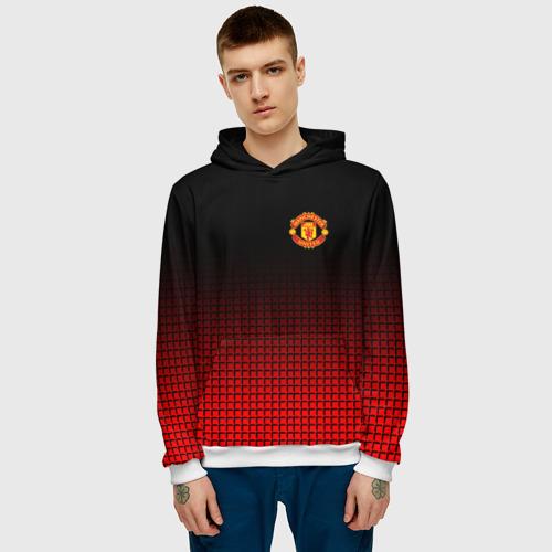 Мужская толстовка 3D  Фото 03, Manchester United 2018 #22