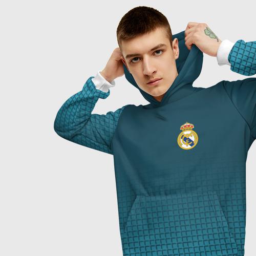 Мужская толстовка 3D  Фото 01, Real Madrid 2018 #14