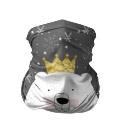 Белый медведь в короне