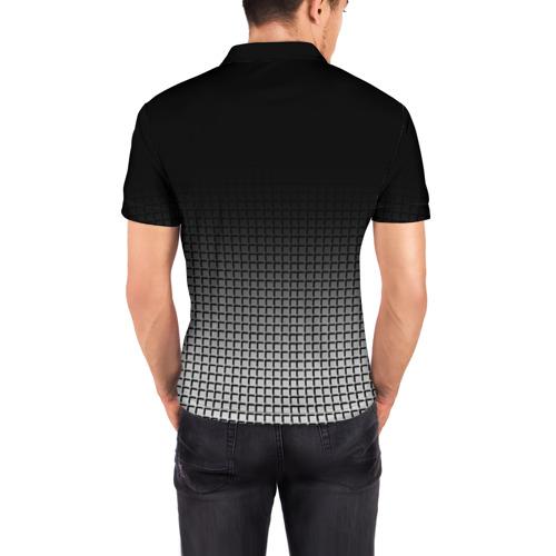 Мужская рубашка поло 3D  Фото 04, BMW 2018 Black and White III