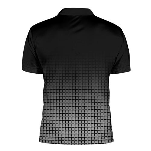 Мужская рубашка поло 3D  Фото 02, BMW 2018 Black and White III