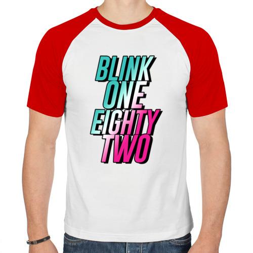 Мужская футболка реглан  Фото 01, Blink-182
