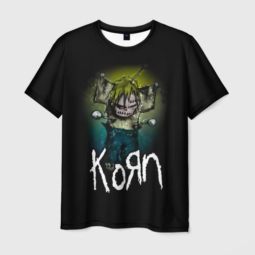Мужская футболка 3D Korn