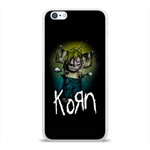 Чехол для Apple iPhone 6Plus/6SPlus силиконовый глянцевый  Фото 01, Korn