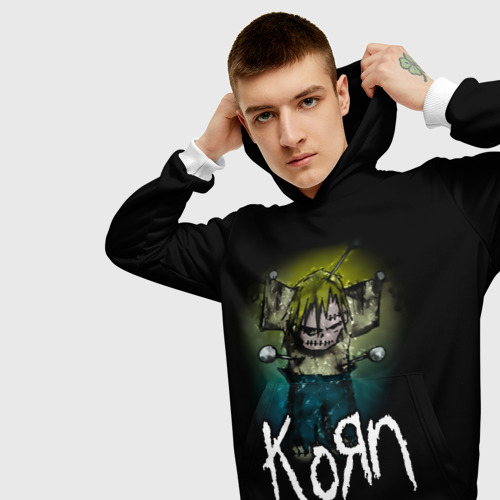 Мужская толстовка 3D  Фото 01, Korn