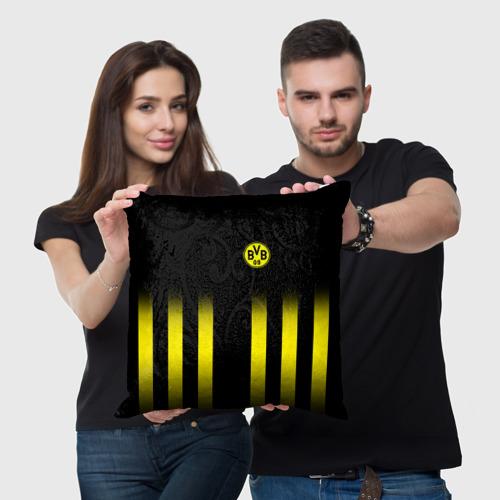 Подушка 3D  Фото 05, FC Borussia 2018 Line