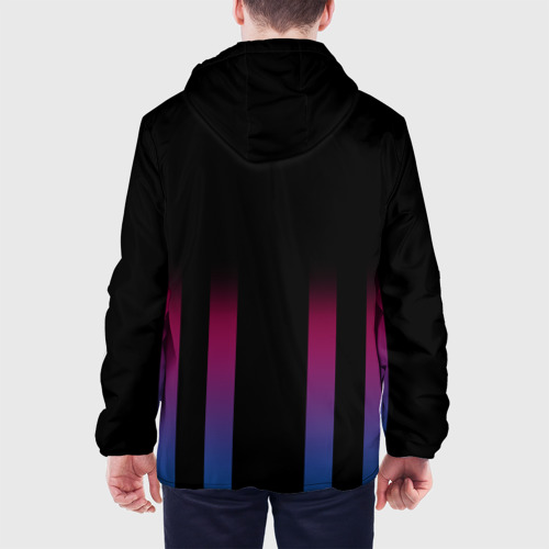 Мужская куртка 3D  Фото 05, FC Barcelona Color Line