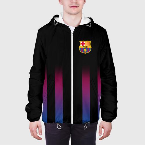 Мужская куртка 3D  Фото 04, FC Barcelona Color Line