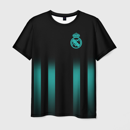 Мужская футболка 3D  Фото 03, Real Madrid 2018 Line