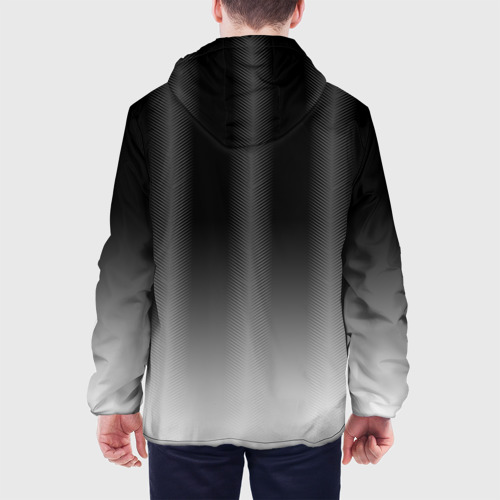 Мужская куртка 3D  Фото 05, BMW 2018 Black Gradient