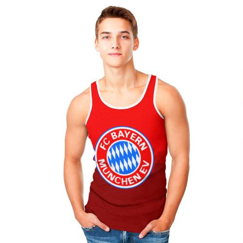 Мужская майка 3D  Фото 05, FC Bayern 2018 Paints