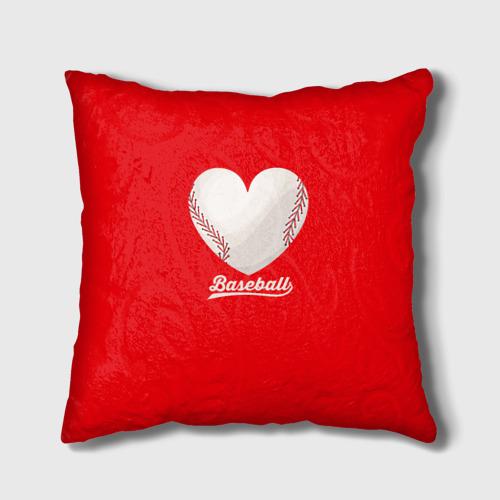 Подушка 3D  Фото 01, Love Baseball