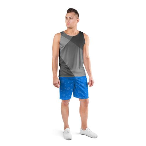 Мужские шорты 3D спортивные  Фото 04, Новогодний свитер